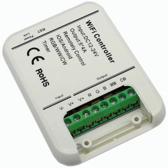 Conexiones de controlador WiFi