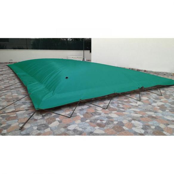 Cobertor invierno hinchable verde