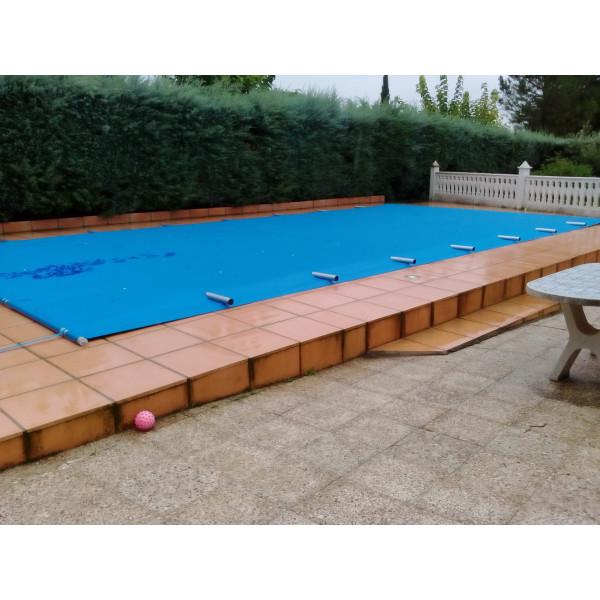 Cobertor de barras para piscinas