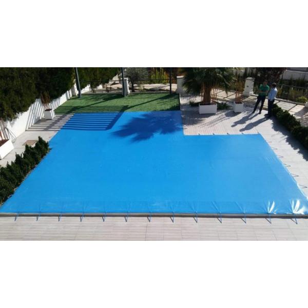 Cobertor de invierno para piscina a...