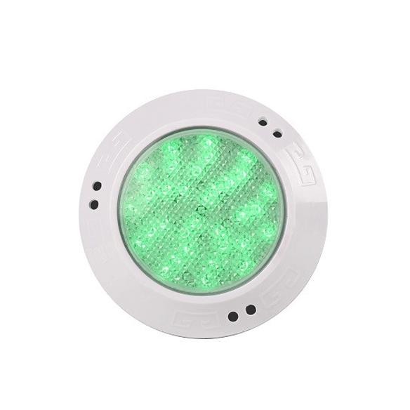 foco LED para piscina color verde