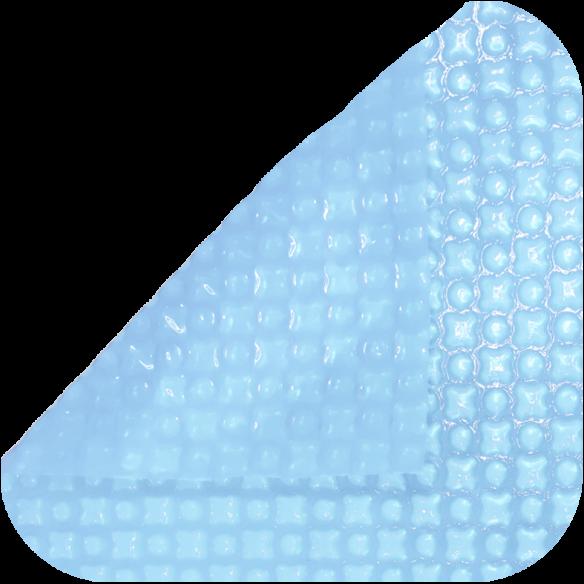 Manta térmica para piscina transparente