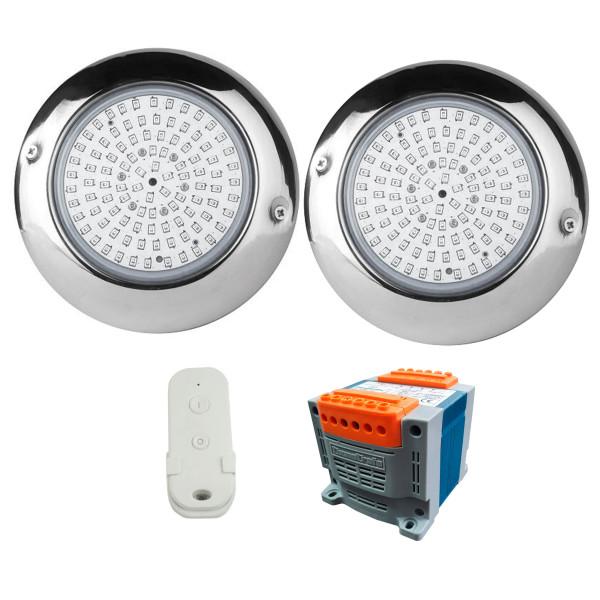 Pack 2 Focos LED de Superficie Blanco...