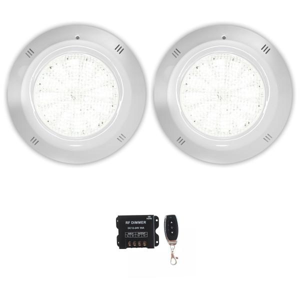 Pack 2 Focos LED Blanco 35W 12V AC/DC...
