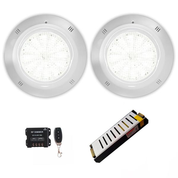 Pack 2 Focos LED Blanco 25W 12V AC/DC...