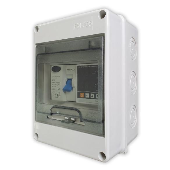 Cuadro eléctrico para bombas de calor de piscina