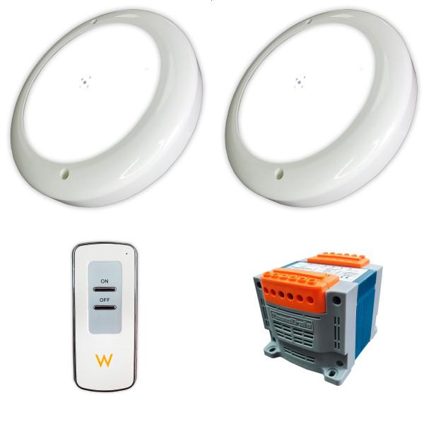 Pack 2 Focos LED Blanco 35W relleno...