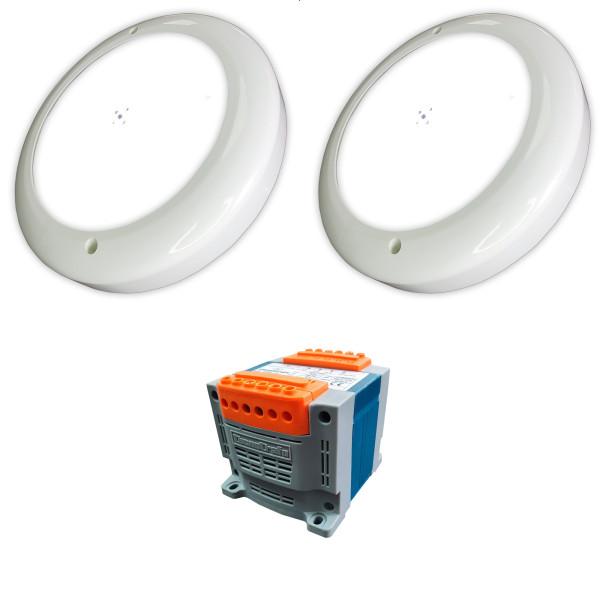 Pack 2 Focos LED Blanco 35W para...