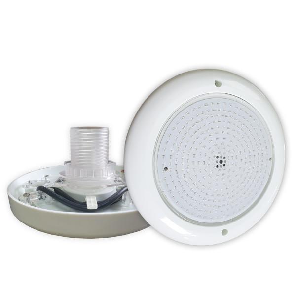 Foco led blanco para piscina de fibra o acero